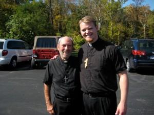 Fr. Athanasius Wilson and Fr. Peter Jon Gillquist